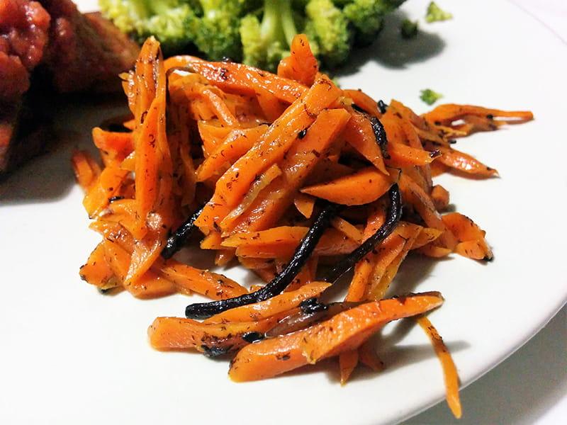 receta Hiziki con zanahoria macrobiotica macrobioteca zaragoza