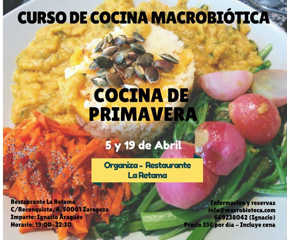 Curso cocina macrobi tica especial primavera for Cocina macrobiotica