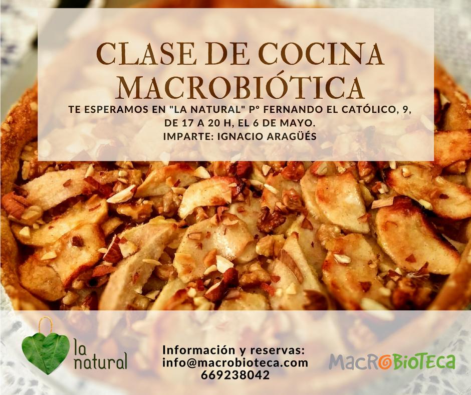 Clase cocina macrobi tica en la natural macrobioteca macrobi tica en zaragoza - Cursos de cocina zaragoza ...